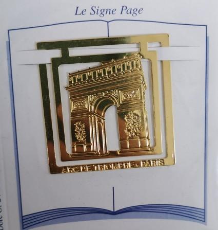 Arc de Triomphe page sign