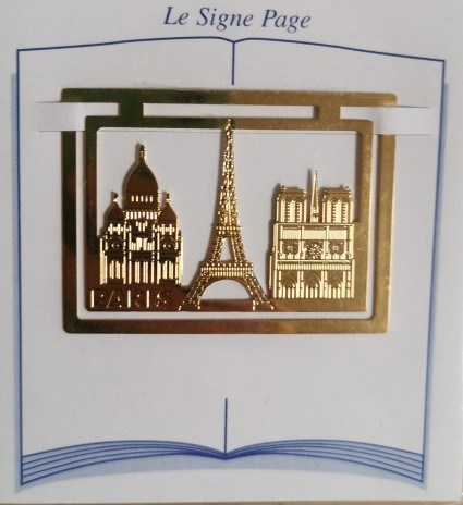 Paris page sign