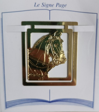 Horse page sign