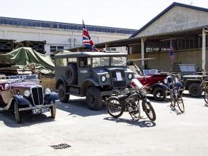 30 June: Presentation of military vehicles