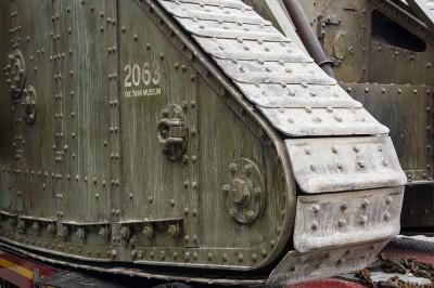到达Bovington坦克博物馆的MARK IV