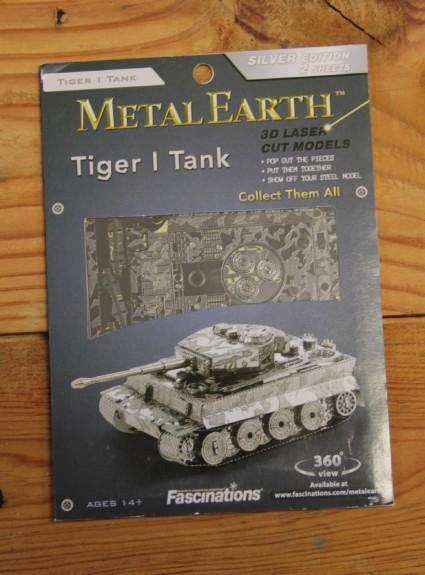Metal Earth Tiger I