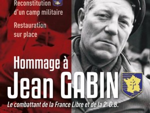 Tribute to Jean Gabin, Moulins-la-Marche