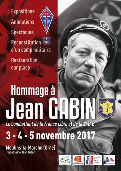 Hommage an Jean Gabin, Moulins-la-Marche
