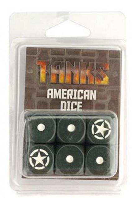 Tanks: American dice set