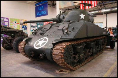 The M4 Sherman tank