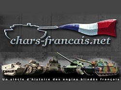 The site of French tanks