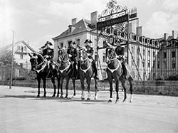 Der Ort der Schule der Kavallerie