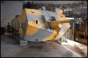 The St-Chamond tank
