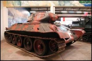 The tank T 34-76