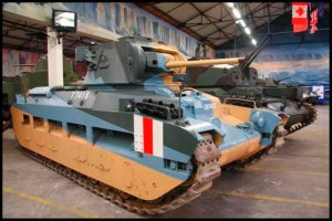 the Matilda MK I and II tank