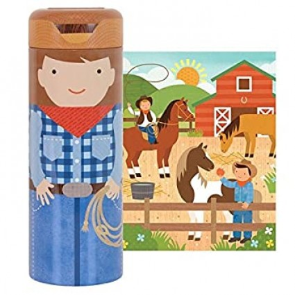 64 Piece Piggy Bank Puzzle at the Ranch