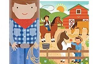 64-teiliges Sparschwein-Puzzle auf der Ranch