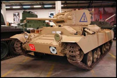 The Valentine Mark III tank